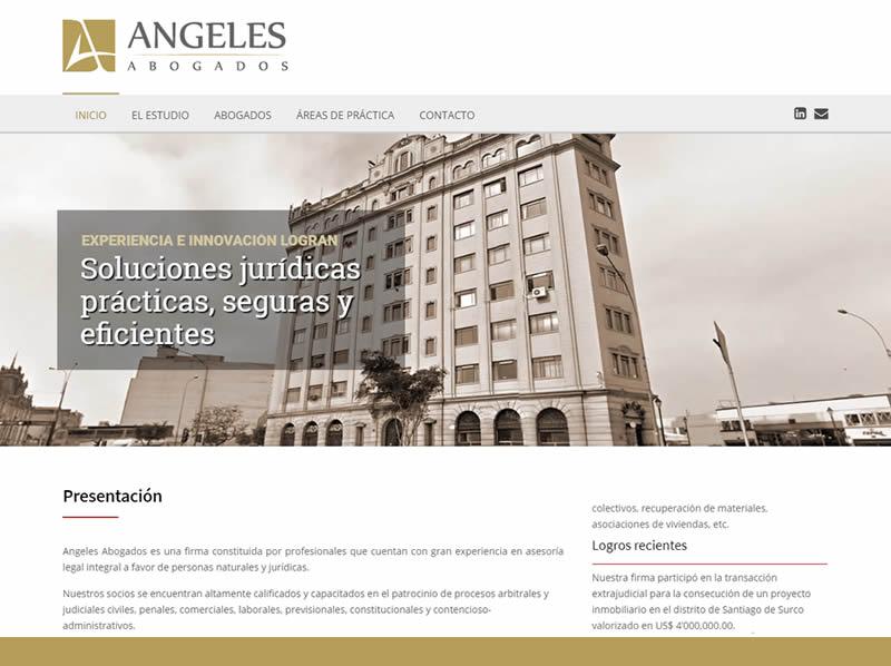 portafolio web angeles abogados