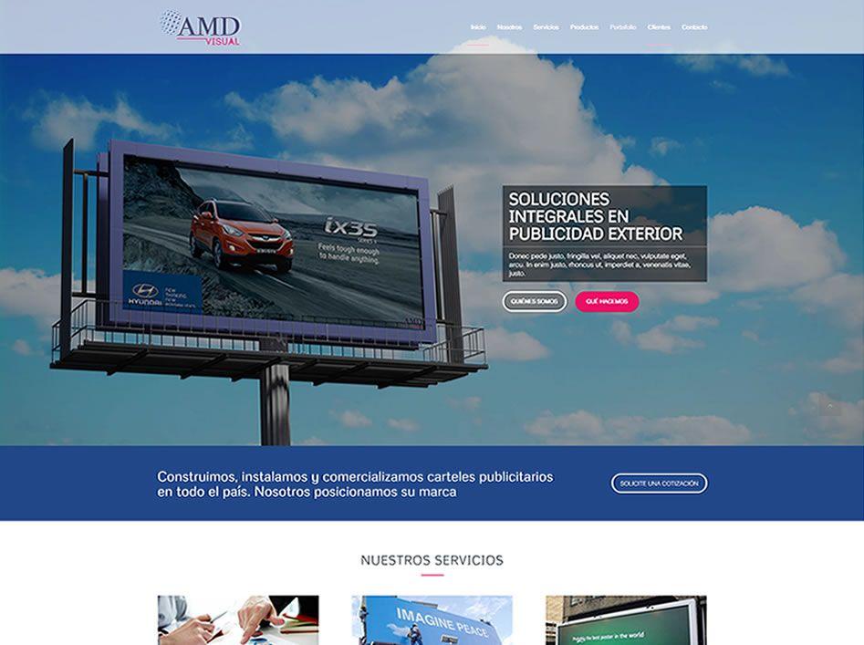 portafolio web amd