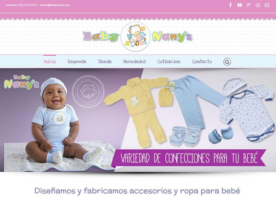 portafolio web baby nanys