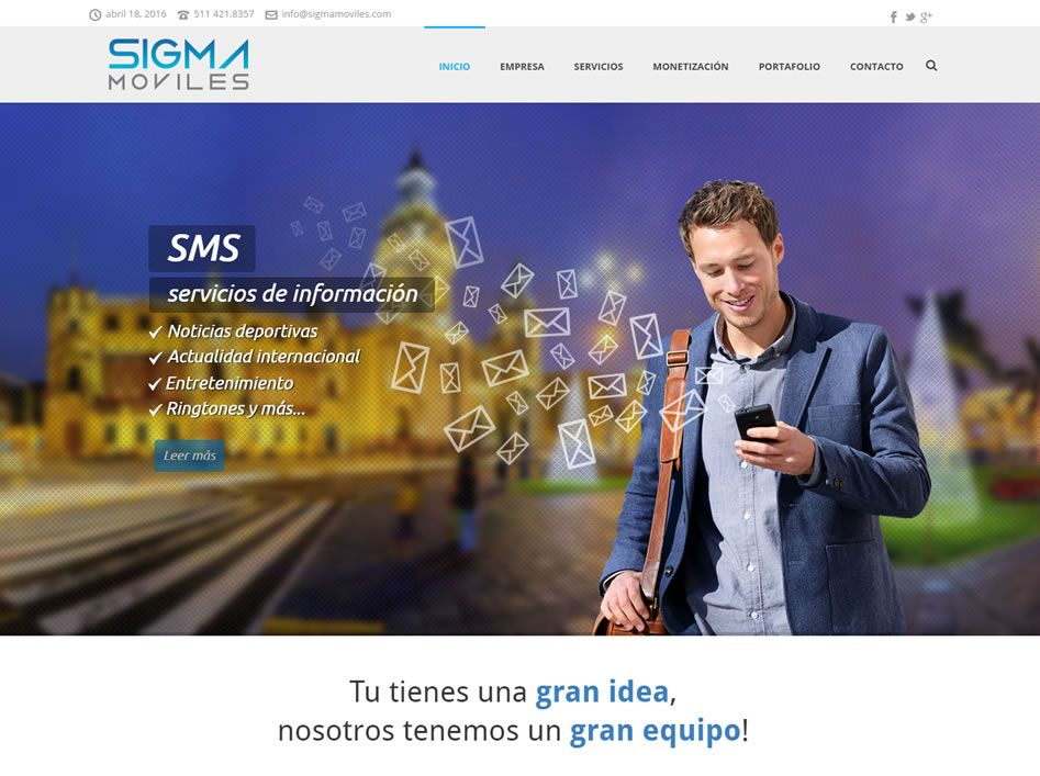 portafolio web sigma